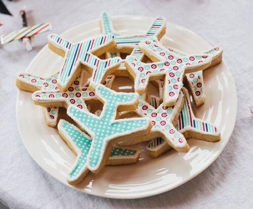 ciastka samoloty