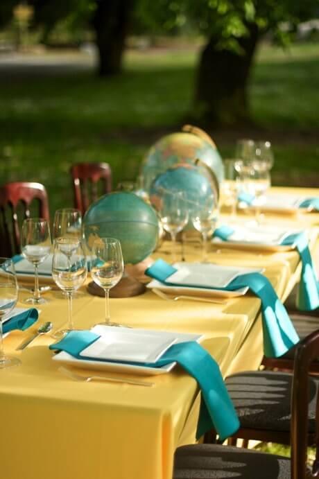 dekoracje na przyjęcie