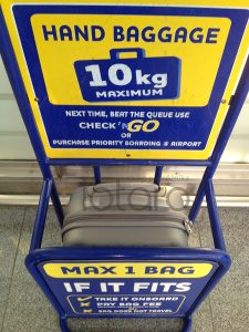 bagaż podręczny Ryanair